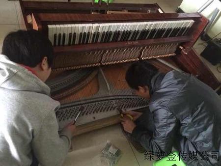 学员钢琴大修