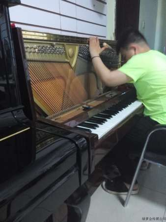 学员钢琴大修,拨音